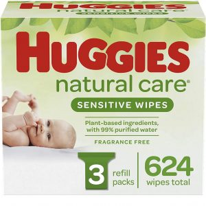 Huggies Natural Care Sensitive Baby Wipes