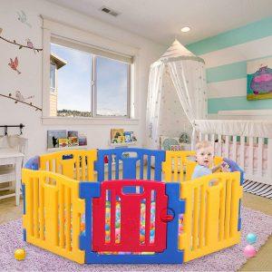 Jaxpety Baby Panels Playpen