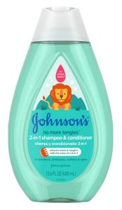 Johnsons Baby 400ml 2 In 1 Baby Sha