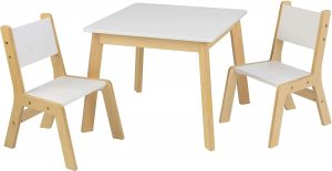 Kidkraft Square Modern Table & 2 Chairs