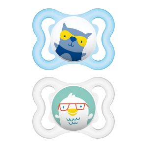 MAM Pack Of 2 Mini Air Pacifiers