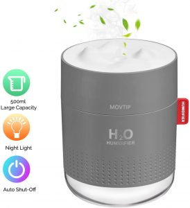 MOVTIP Portable Mini Humidifier