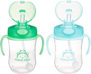 Mama Bear Sippy Straw Cup