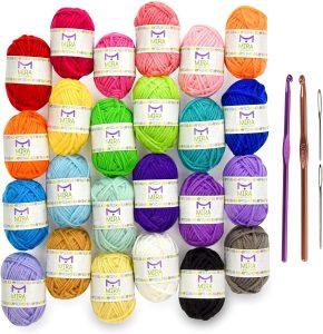 Mira Handcrafts 24 Acrylic Yarn