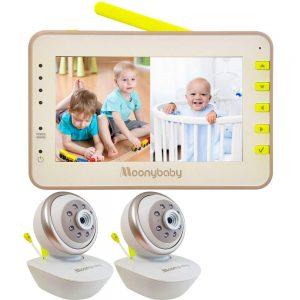 Moonybaby Split 55 Video Baby Monitor