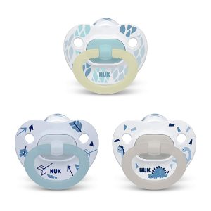 NUK Pack Of 3 Orthodontic Pacifiers