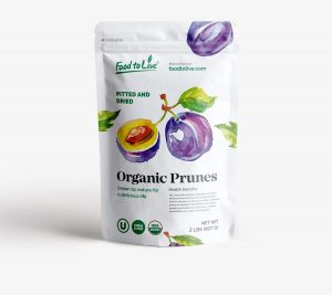Organic Prunes Pitted & Dried