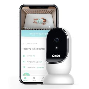 Owlet Baby Monitor With Camera-Audio