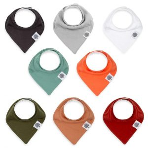 Pack Of 8 Bandana Bibs From Parker Baby