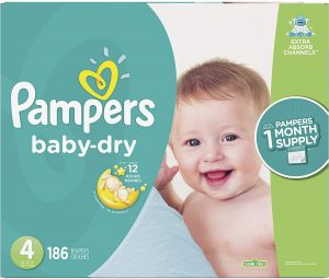 Pampers Baby Dry Disposable