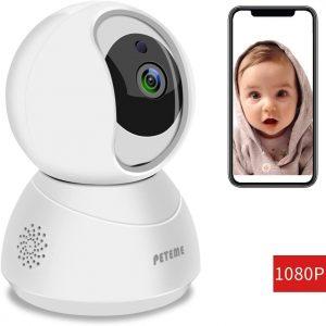 Peteme 1080P Baby Monitor