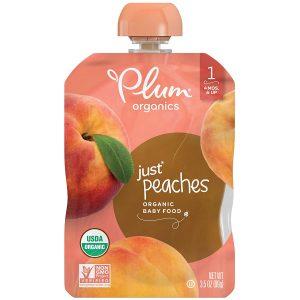 Plum Organic Stage Peach Puree