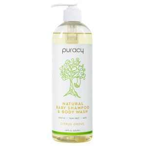 Puracy Sulfate- Free 16 Ounce Natural Body