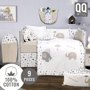 QoupQuru Baby Crib Bedding Set