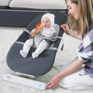 Ronbei Baby Swing,Baby Bouncers for Infants