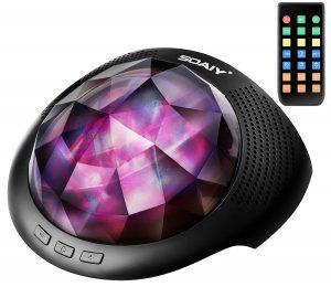 SOAIY Aurora Night Light Projector And Sound Machine