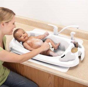Safety 1st White Convertible Bath Tub