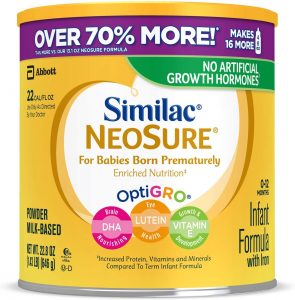 Similac NeoSure Nutrition