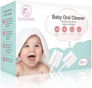 Slotic Baby Toothbrush, Pack Of 4