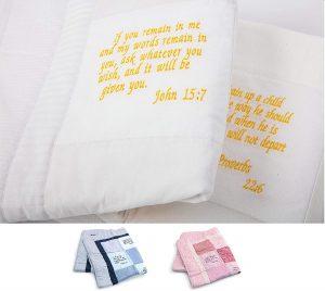 Stuff4Tots Bible Verse Baby Blanket