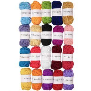 TYH Supplies Acrylic 22 Yards Yarn
