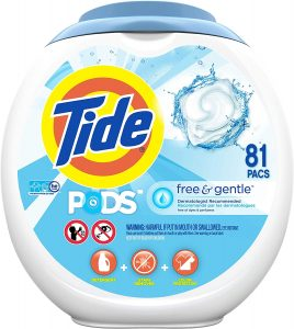 Tide Free And Gentle Laundry Detergent Pods
