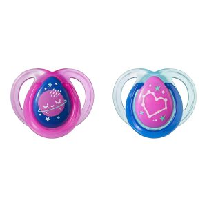 Tommee Tippee Glow In The Dark Night Time Pacifiers