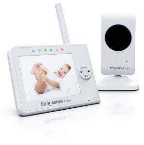 Upgraded - Babysense Video Baby Monitor